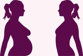 silhouette femme face à face3